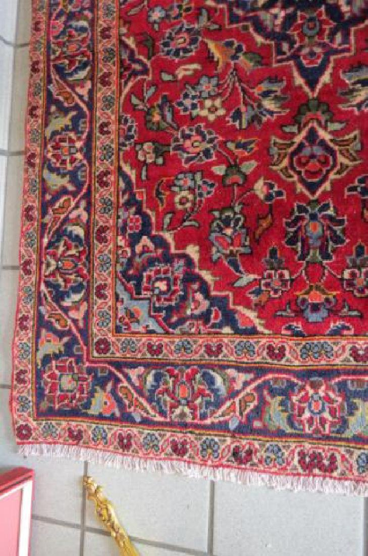 Kashan Persian Handmade Rug, - 5