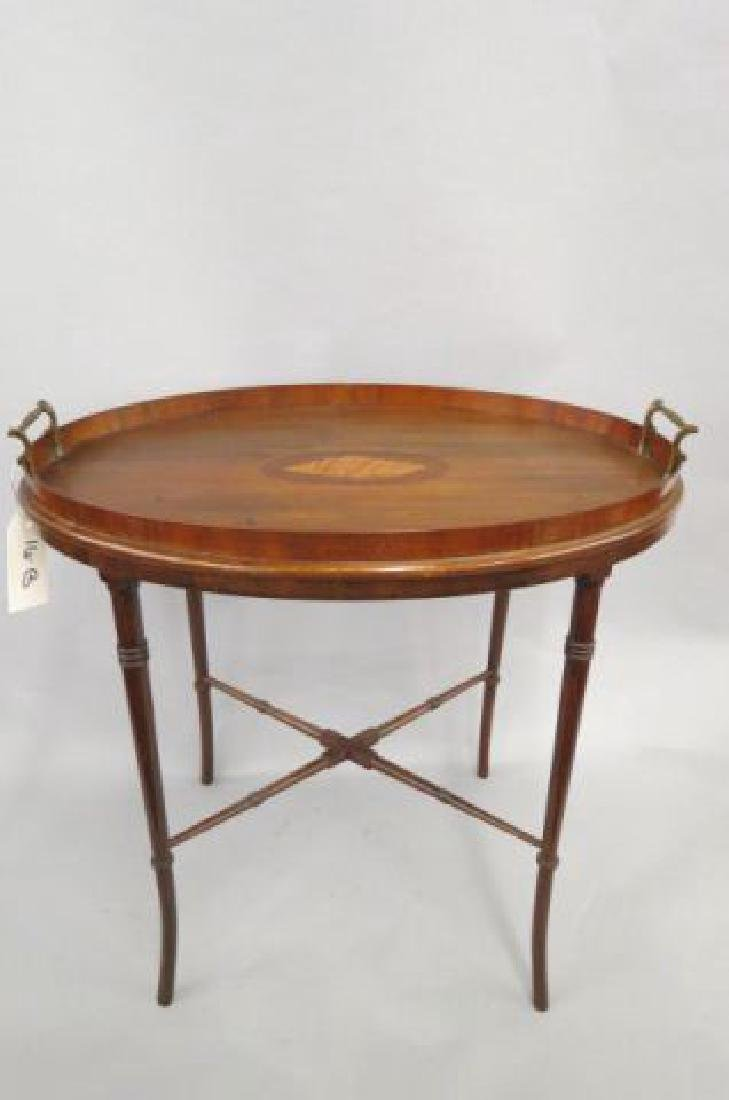 Fine English Mahogany Tray Table,