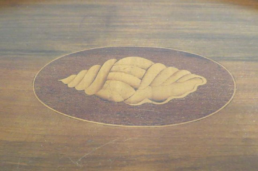 Fine English Mahogany Tray Table, - 3