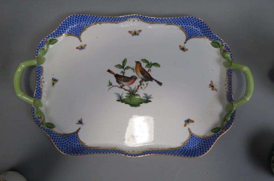 "Herend Porcelain ""Rothschild Bird"" Tea/Coffee Set - 2"