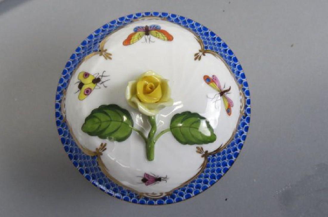 "Herend Porcelain ""Rothschild Bird"" Tea/Coffee Set - 5"