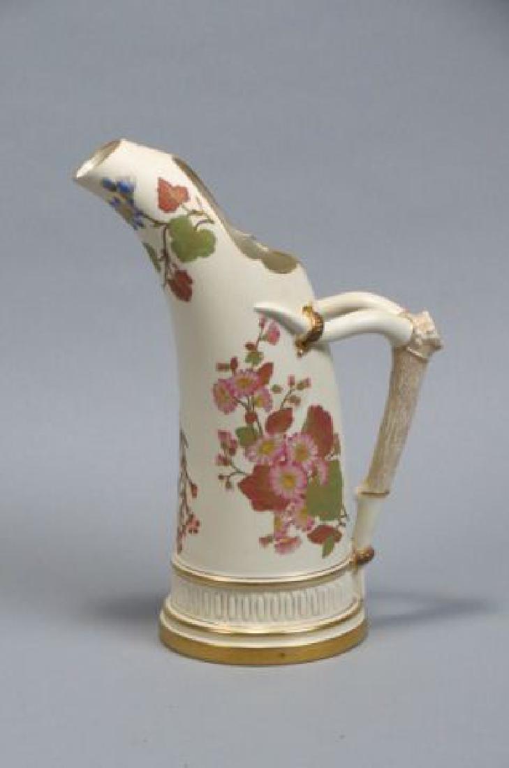 Royal Worcester Porcelain Pitcher,