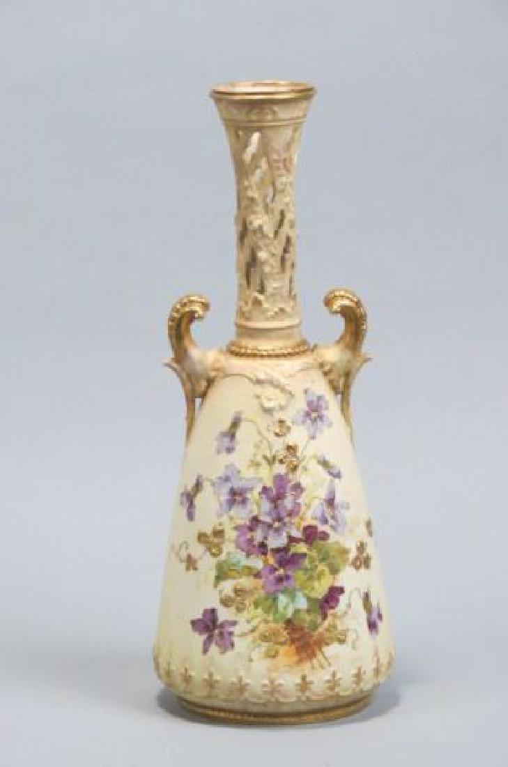 Teplitz Austria Porcelain Vase by RstK,
