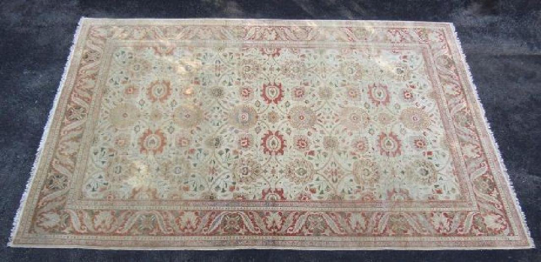 Antique Mahal Persian Handmade Palace Size Rug,