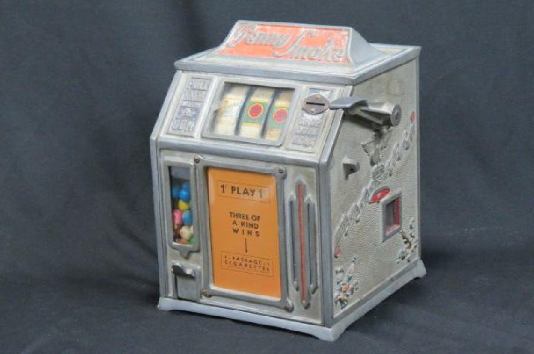"1930 Penny Trade Stimulator ""Slot"" Machine,"