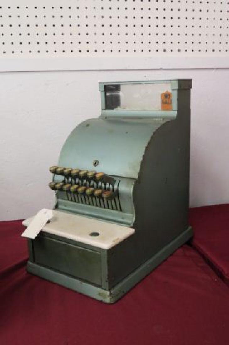 Antique Metal Cash Register,