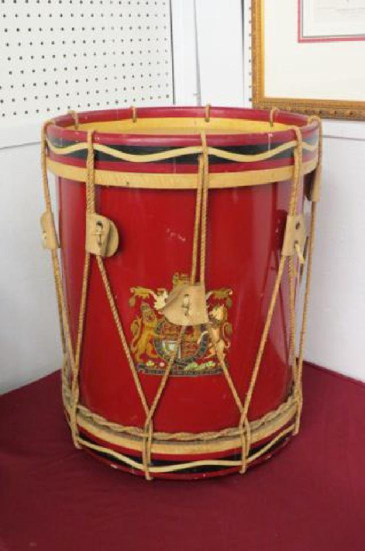 Vintage Drum Toy Box or Side table,
