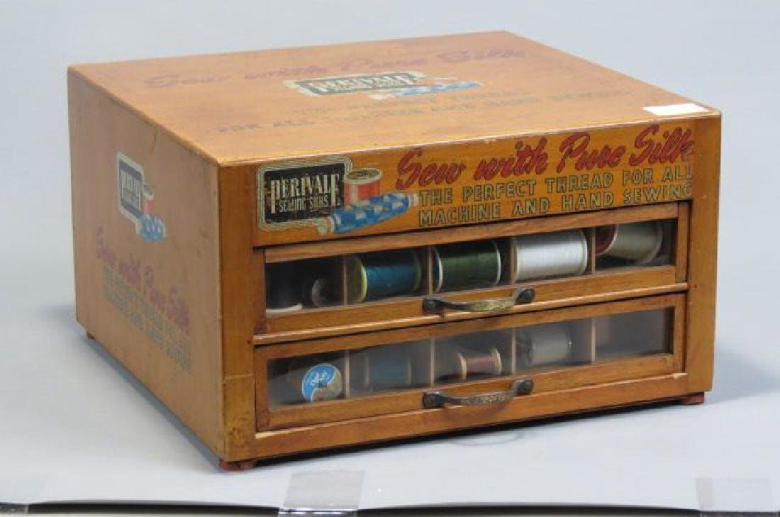 Perivale Silk Thread Spool Cabinet,