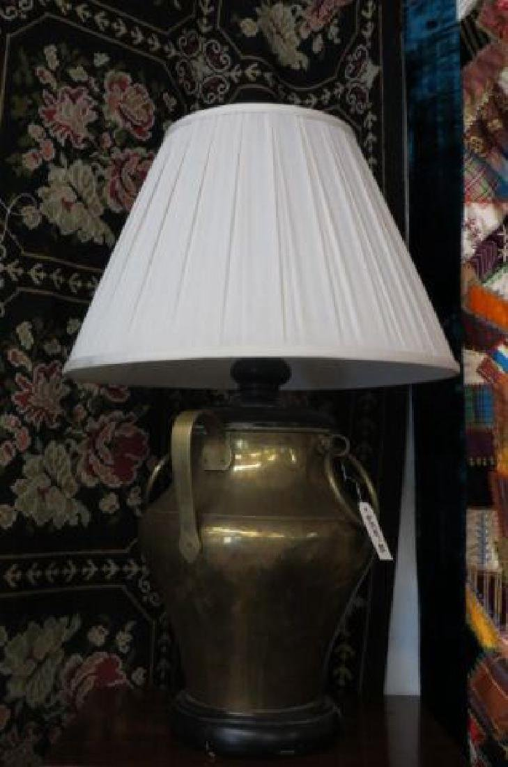 Large Brass Lamp,