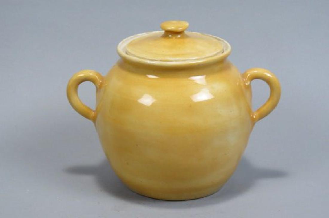 Pisgah Forest Art Pottery Bean Pot,