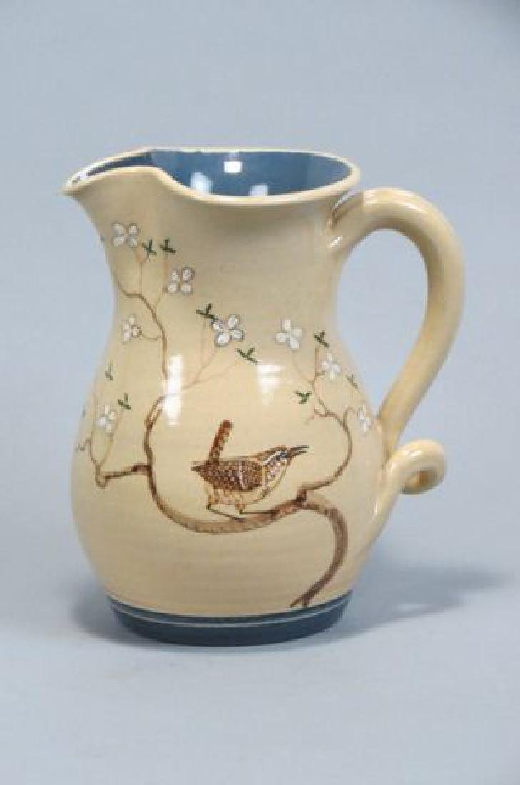 Winton-Rosa Eugene Pottery Pitcher,