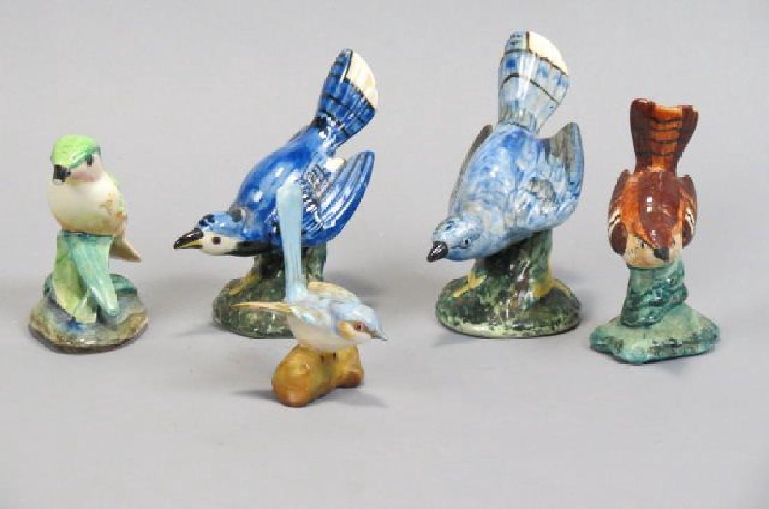 4 Stangl Pottery Birds,