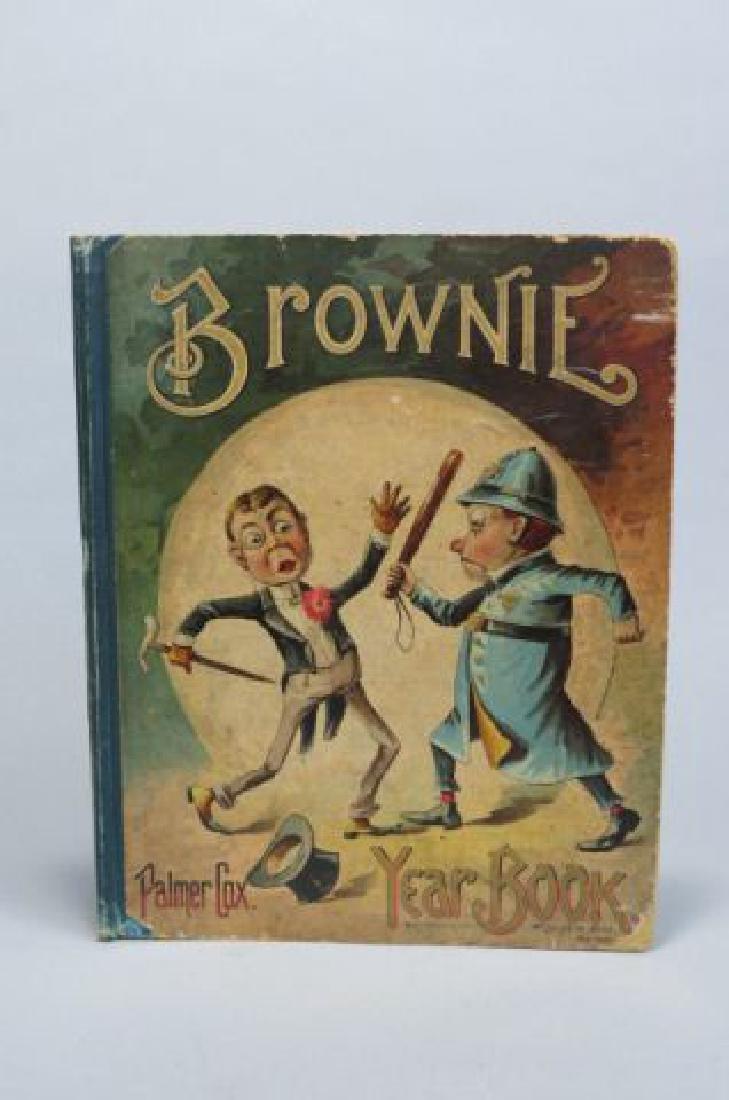 """Palmer Cox Brownies """"Yearbook"""", 1895."""