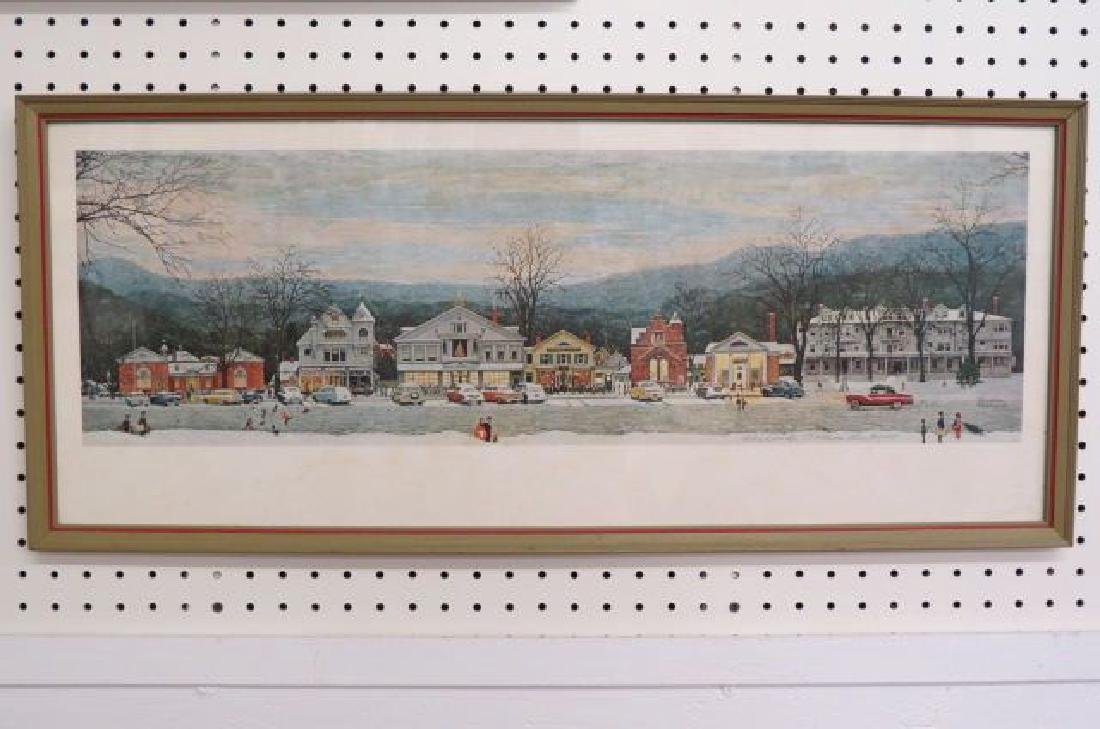Norman Rockwell Print, signed,