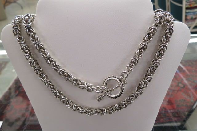 Dweck Sterling Silver Necklace,