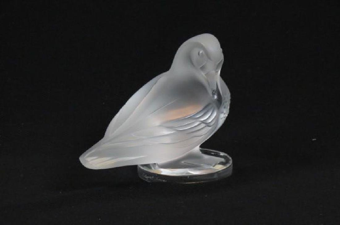 Lalique Crystal Figurine of a Duck,