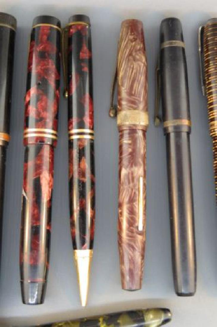 Collection of 11 Fountain Pens, - 3