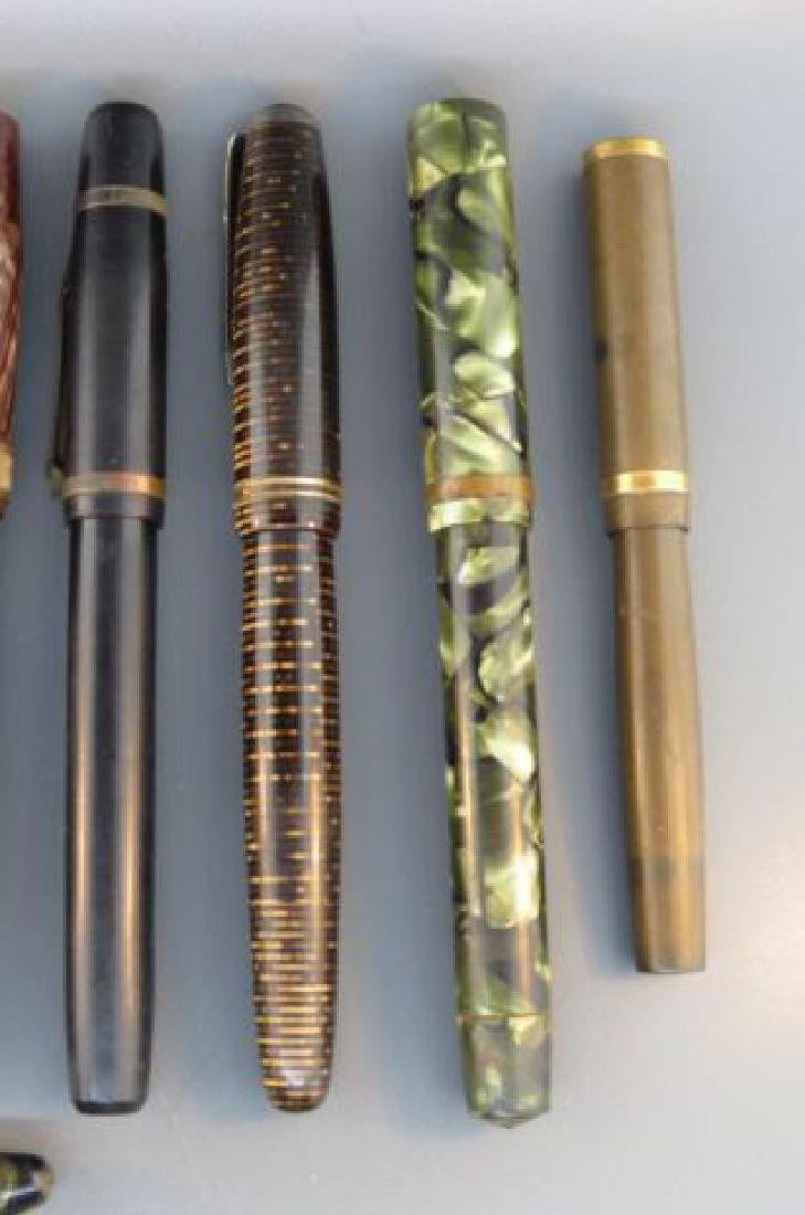 Collection of 11 Fountain Pens, - 4