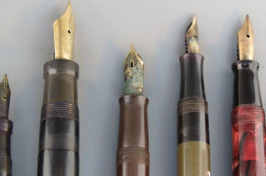 Collection of 11 Fountain Pens, - 6