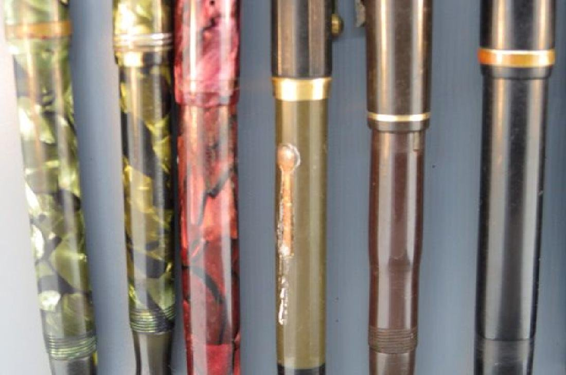 Collection of 11 Fountain Pens, - 7