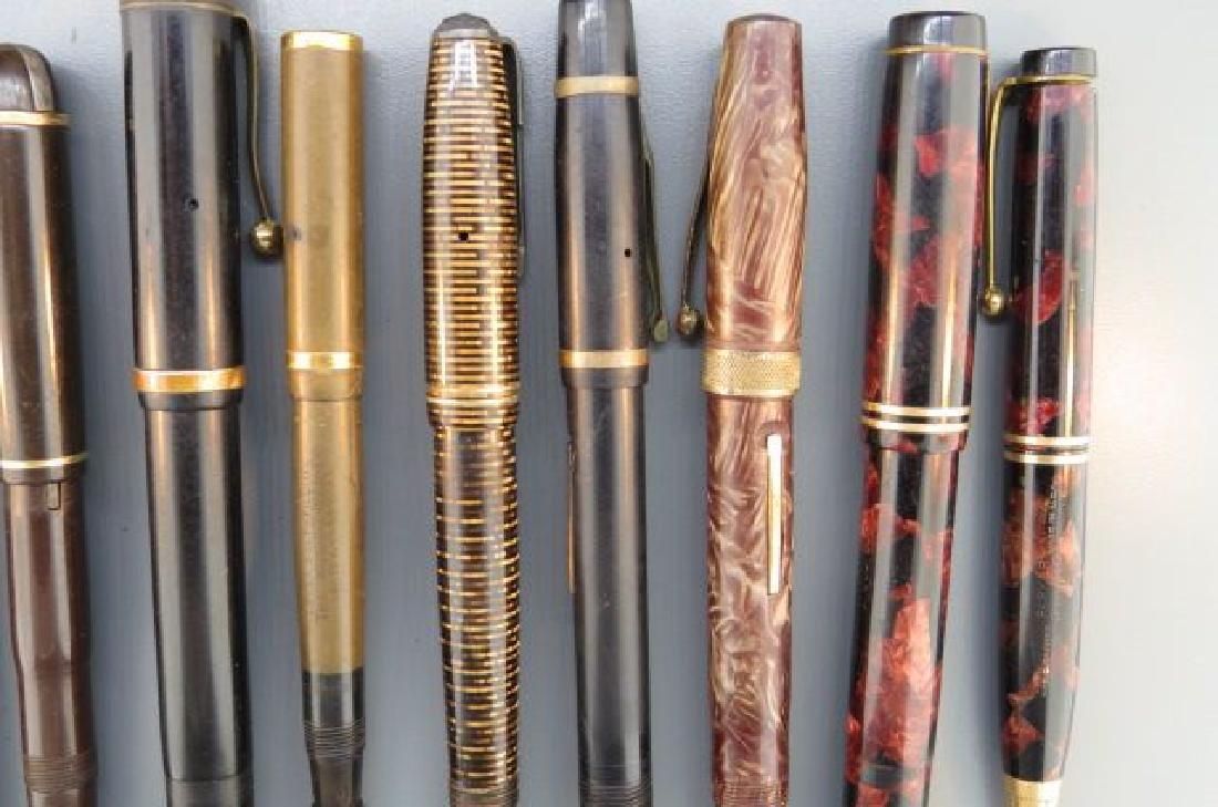 Collection of 11 Fountain Pens, - 8