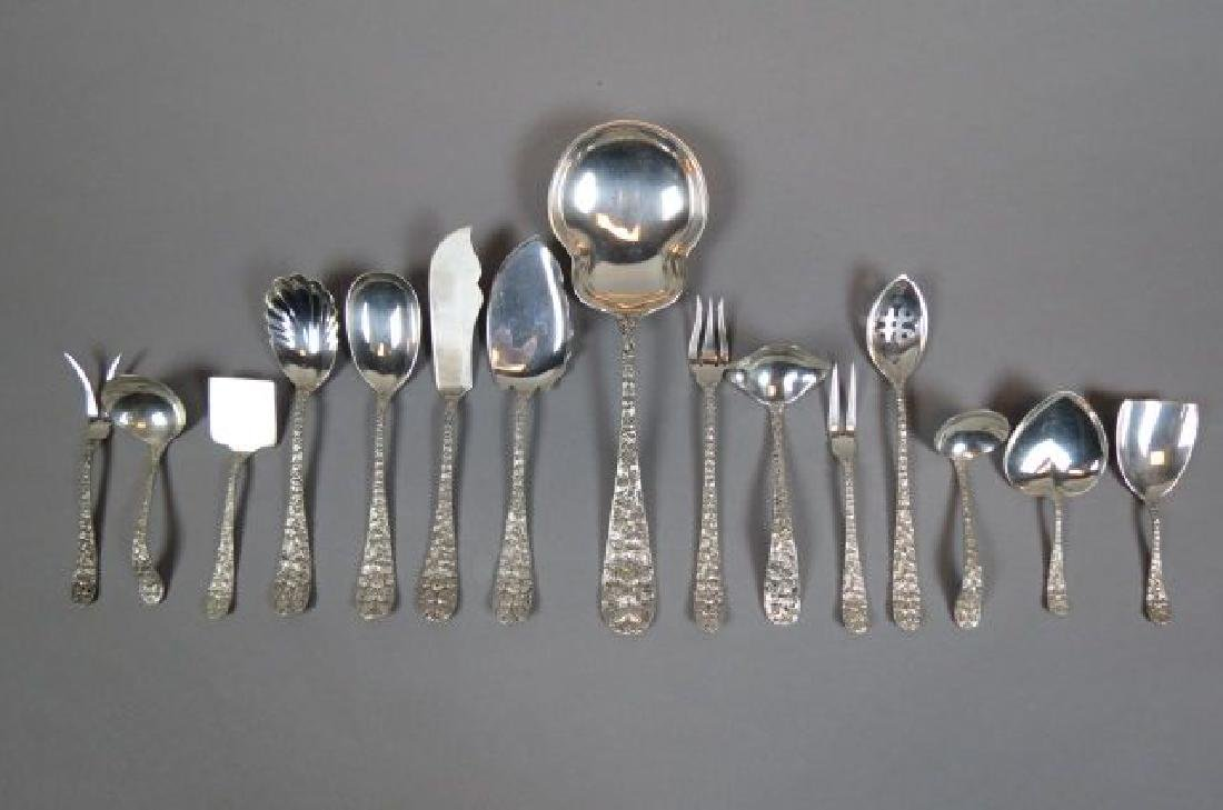 "15 Schofield ""Baltimore Rose"" Sterling Servers,"