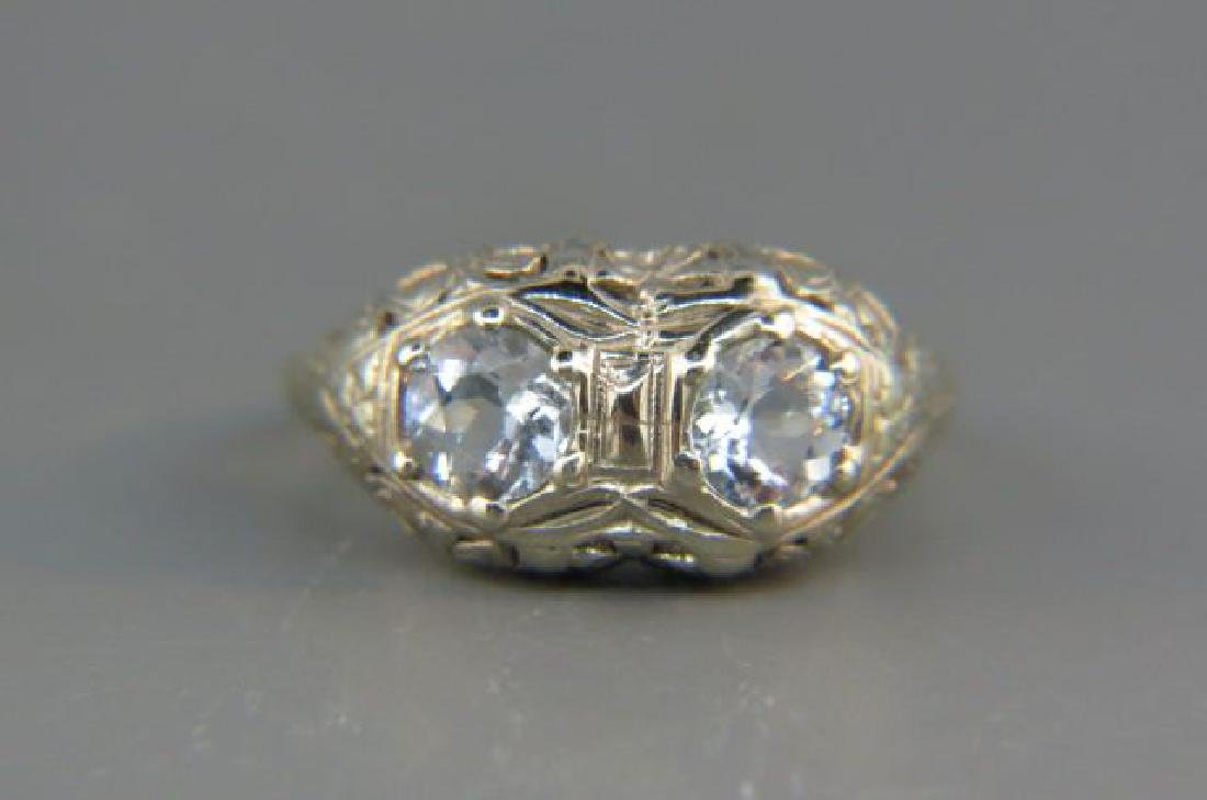 Aquamarine Ring,