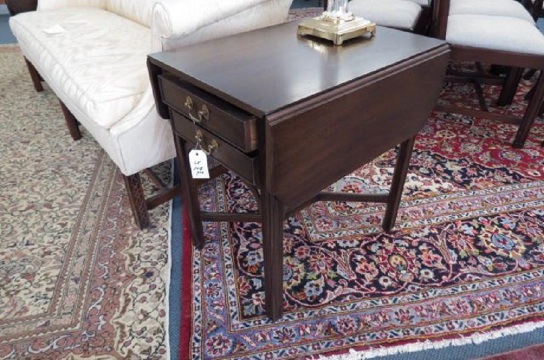 Pair of Mahogany Pembroke Side Tables,