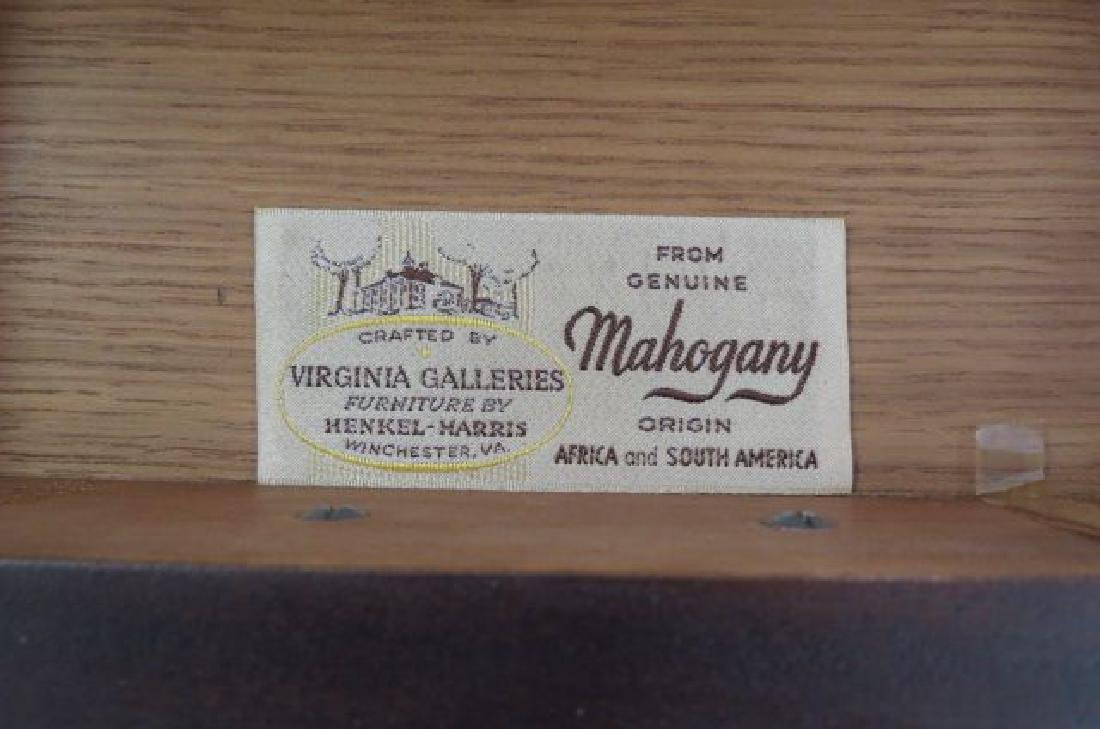 Pair of Mahogany Pembroke Side Tables, - 3