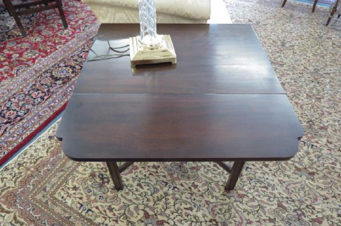 Pair of Mahogany Pembroke Side Tables, - 5