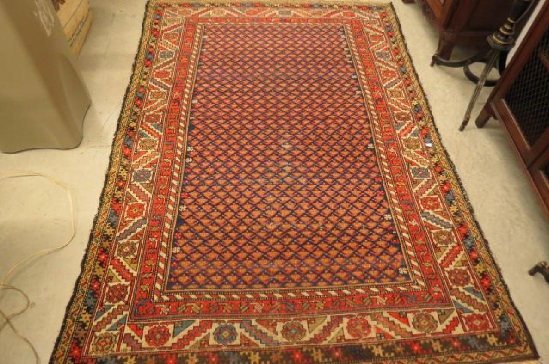 Antique Caucausan Handmade Rug,