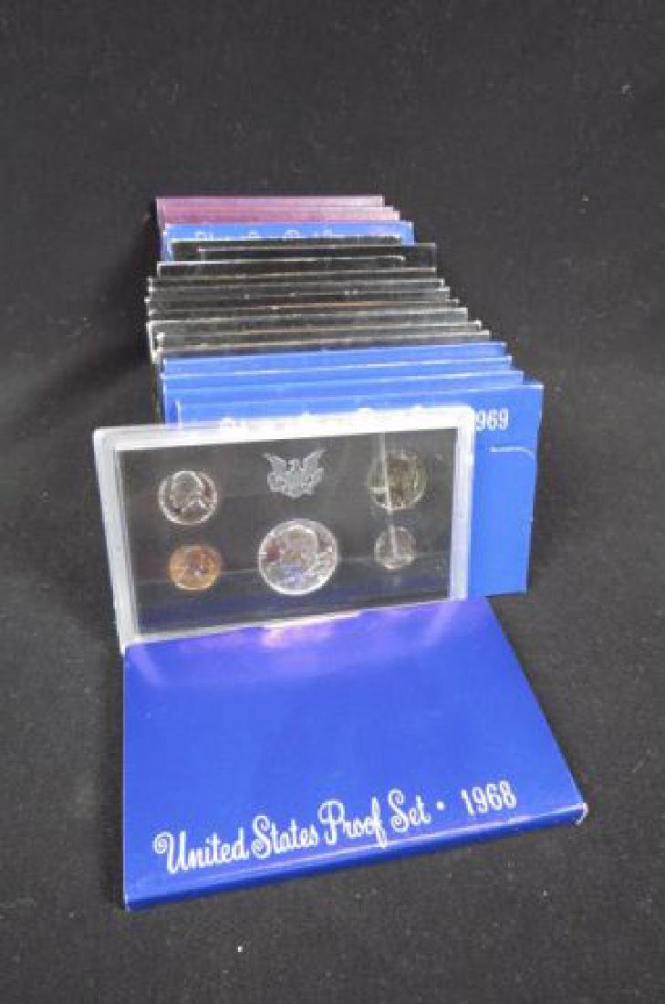 20 U.S. Proof Coin Sets,