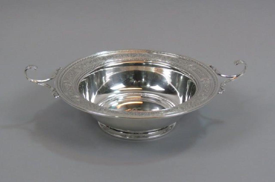 "International ""Wedgwood"" Sterling Centerpiece Bowl"