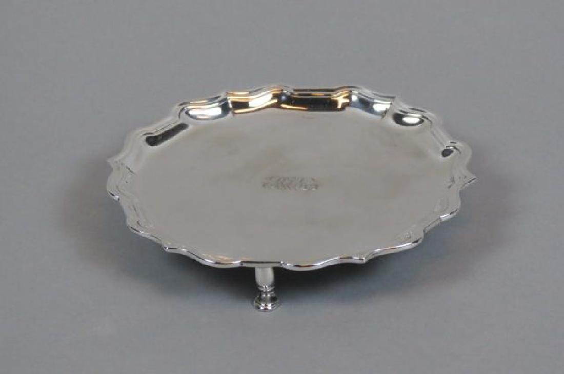Tiffany Sterling Footed Salver,