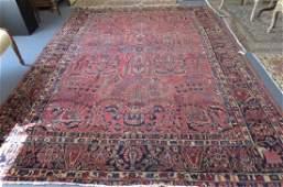 Sarouk Persian Handmade Room Size Rug,