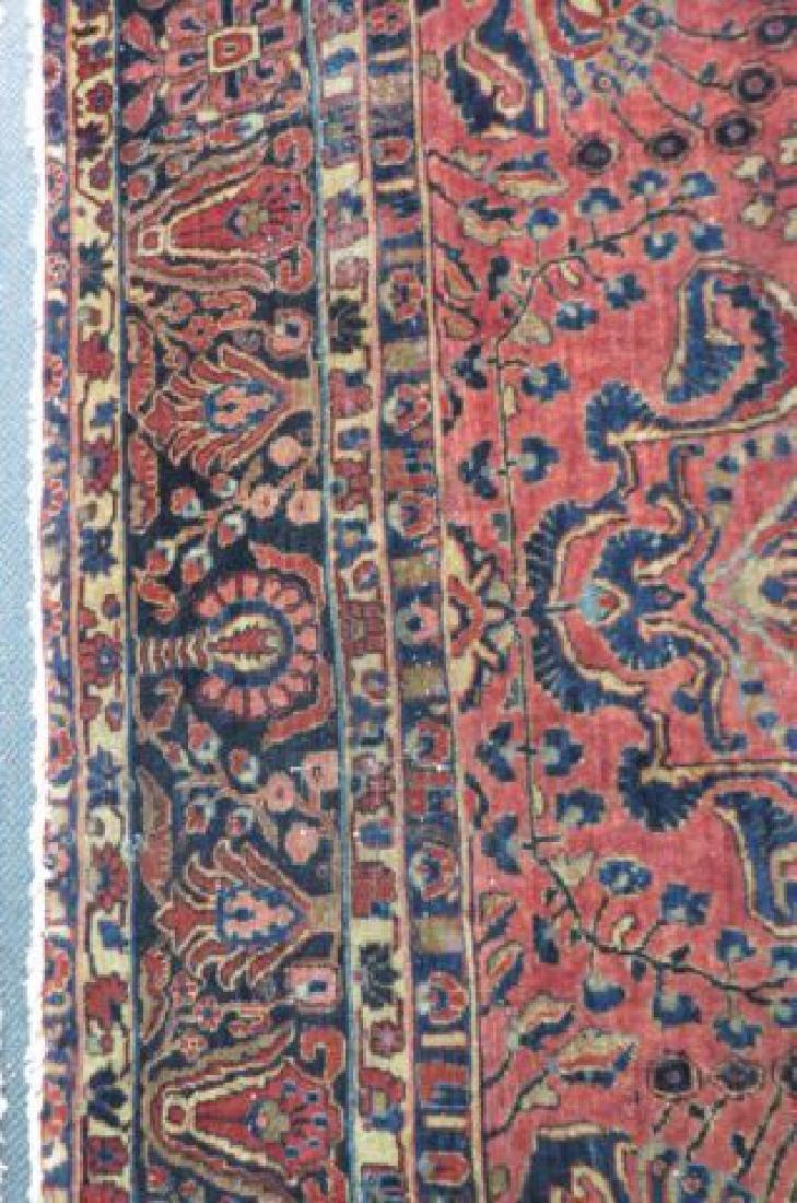 Sarouk Persian Handmade Room Size Rug, - 4