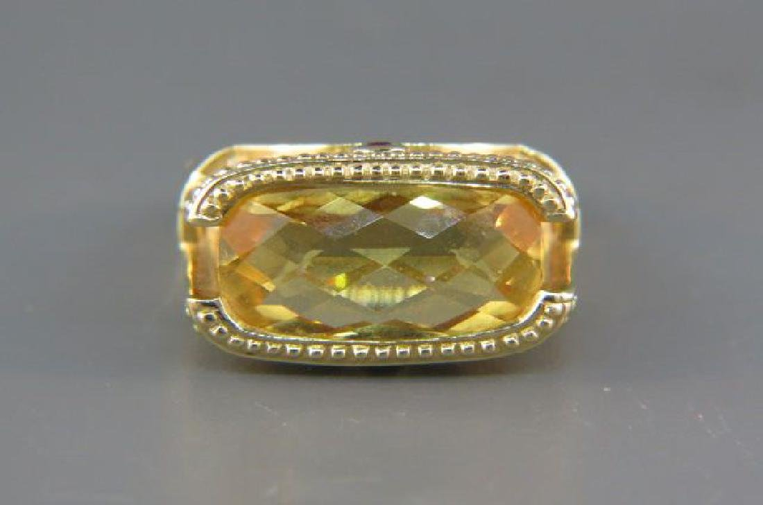 Citrine Ring,