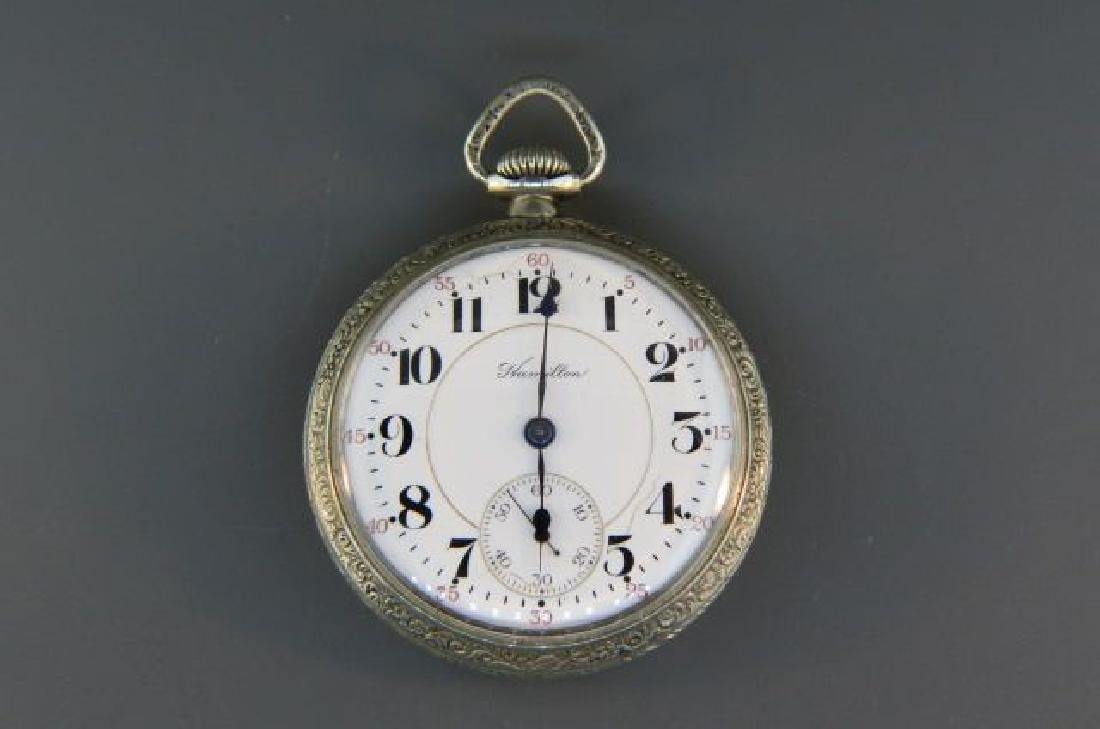 Hamilton Railroad Pocketwatch, model 992,