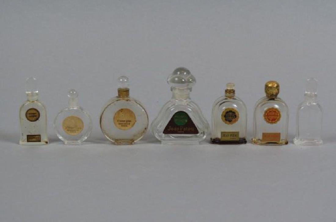 Lot of Jean Patou & Nina Ricci Perfume Bottles.