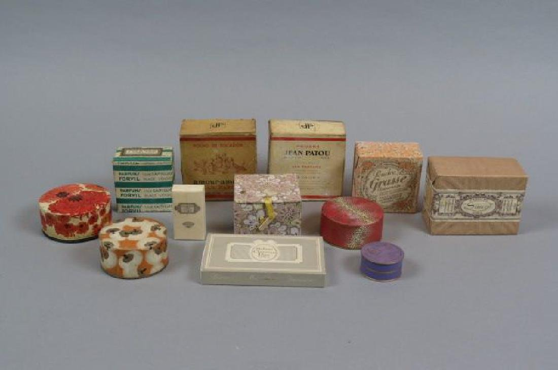 Lot of Powder Boxes,