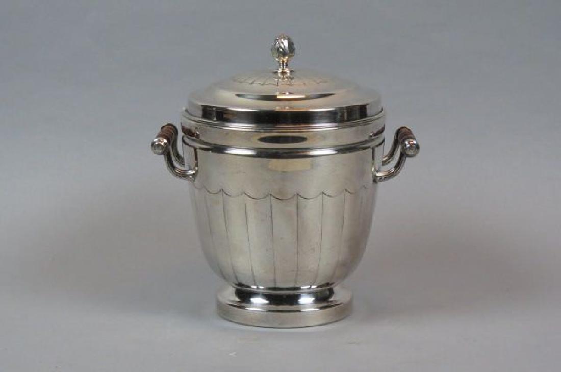 Silverplate Ice Bucket,