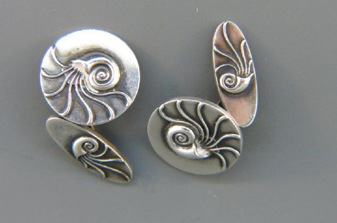 Georg Jensen Sterling Silver Cufflinks,