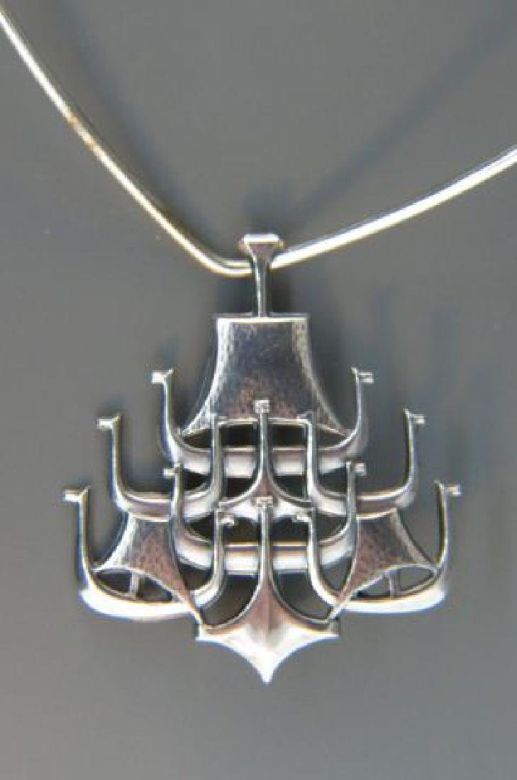 David Andersen Norway Sterling Necklace,