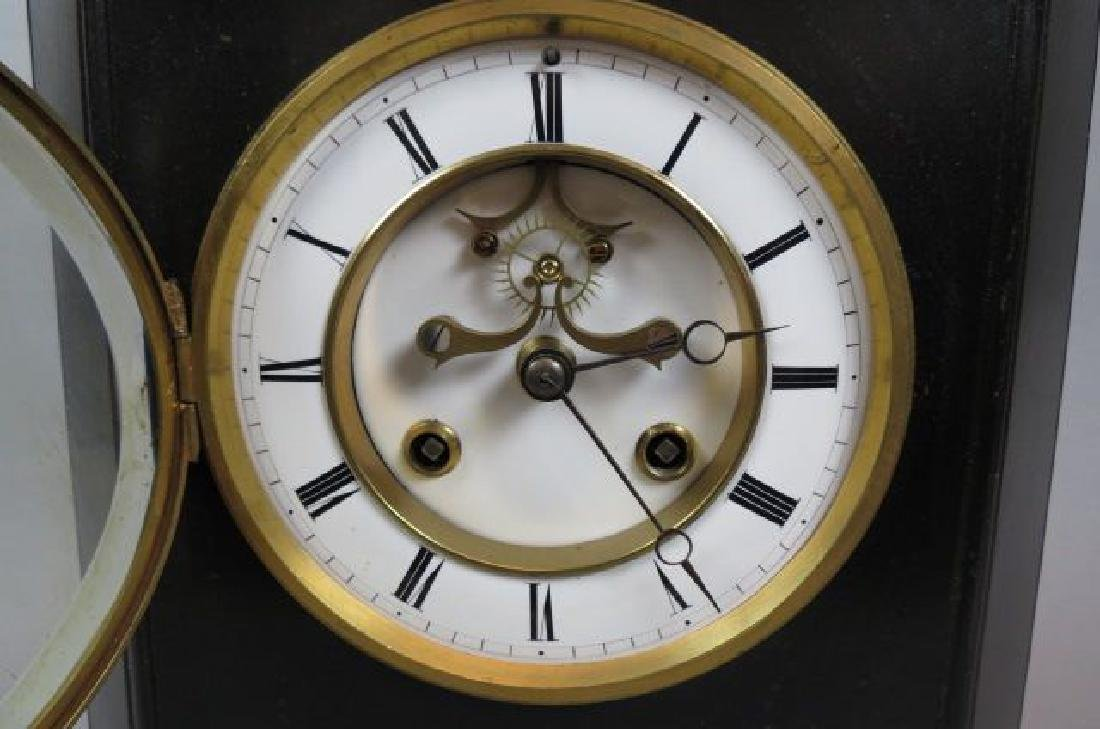 Japy Freres Mantle Clock, - 2