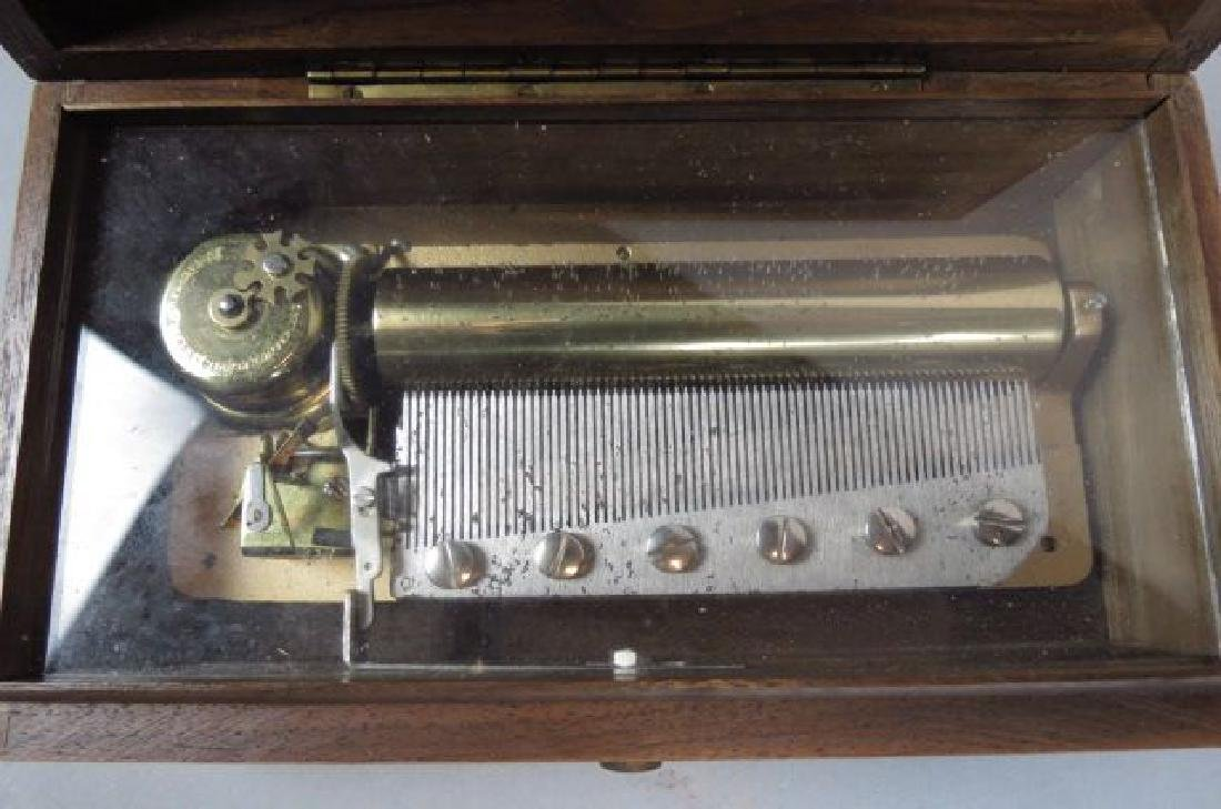 Reuge Swiss Cylinder Music Box,