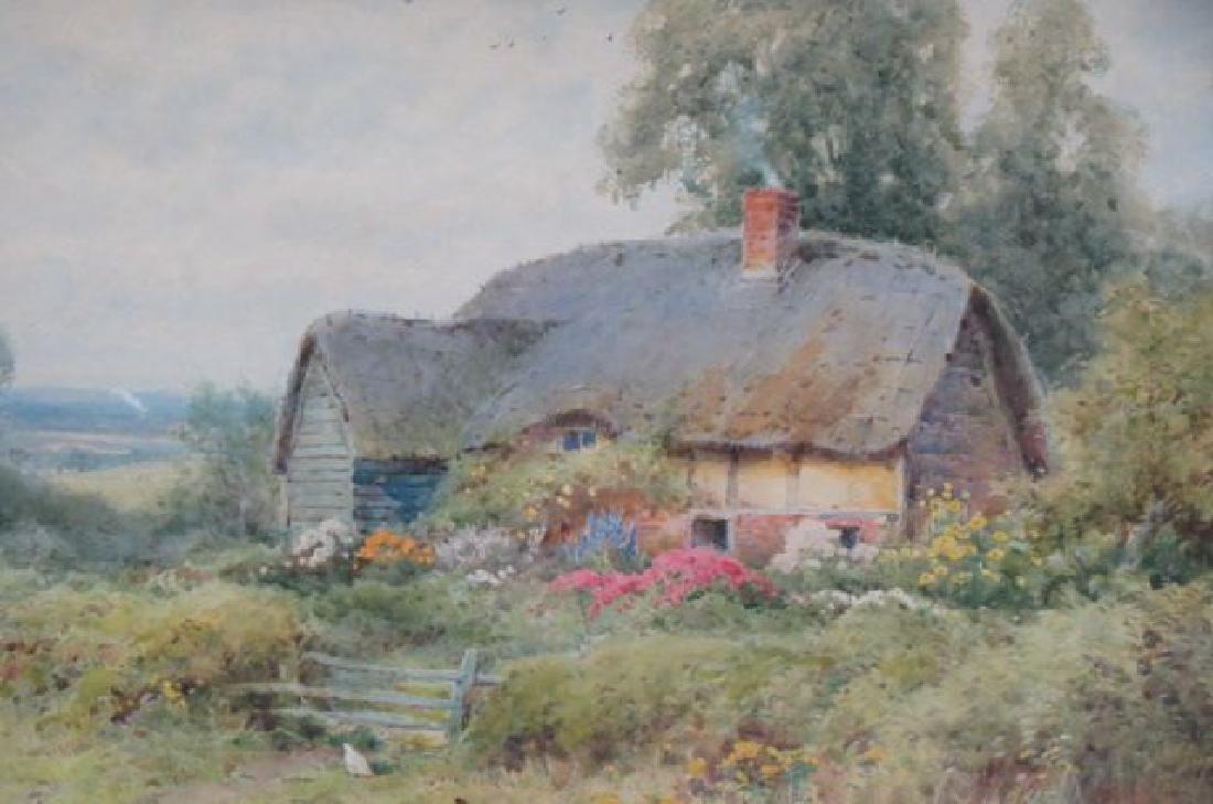 Theresa Sylvester Stannard, watercolor,