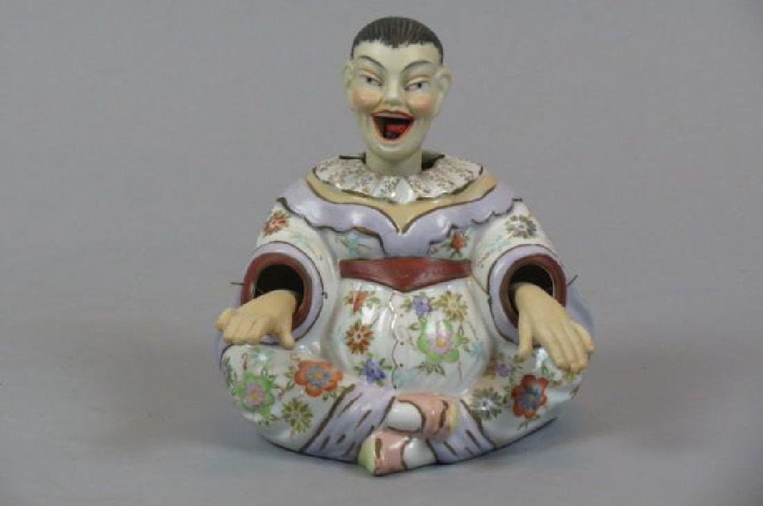 "Chinese Porcelain ""Nodder"" Figurine,"