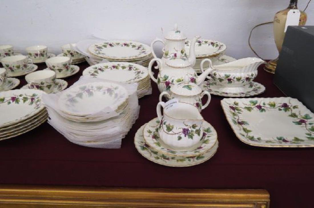 "65 pc. Royal Worcester ""Bacchanal"" China Set,"