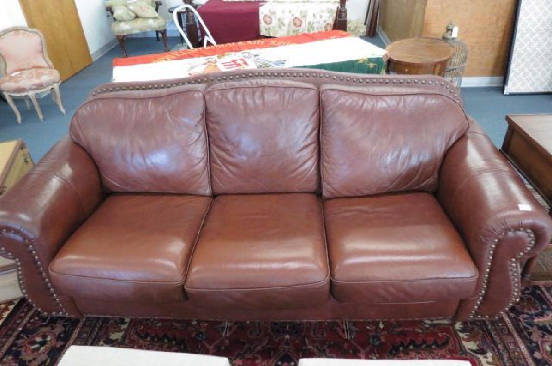 Leather Sofa,