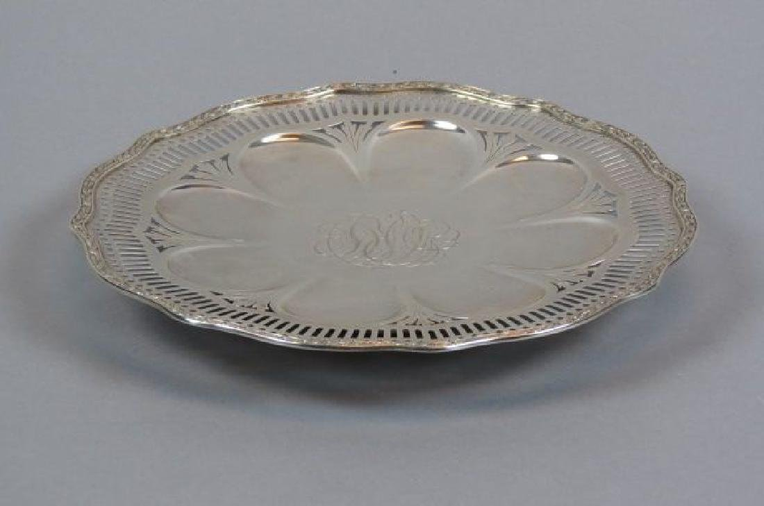 Wallace Sterling Dessert Stand,